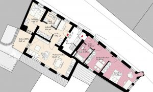 Steinweg1+3 1.Obergeschoss