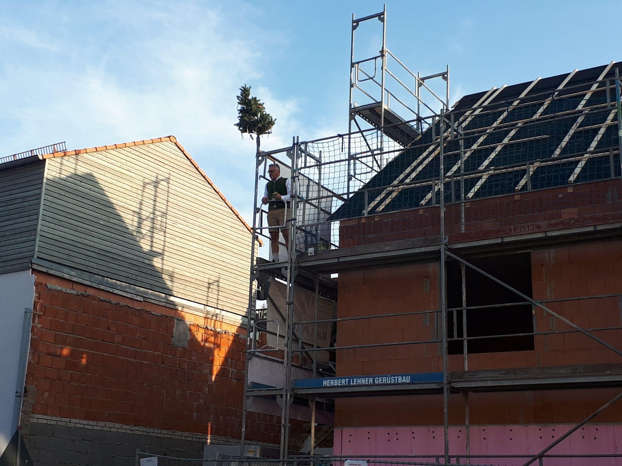 Richtfest Neubau Dietfurter Straße 17-19 in Hemau