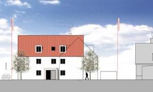 Haus 1 - Ansicht Nord