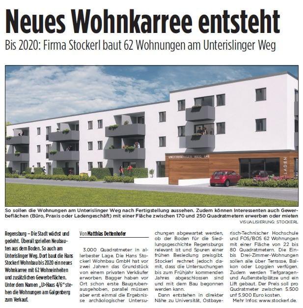 Zeitungsartikel Blizz vom 08.12.2018