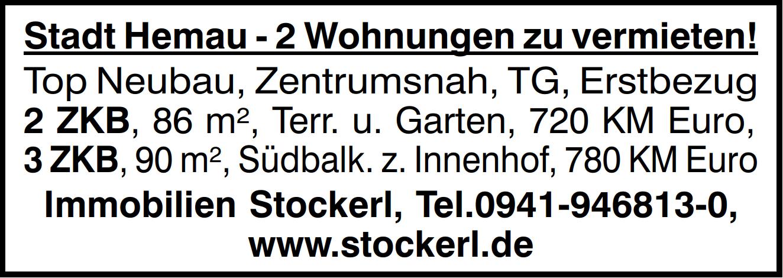 Dietfurterstraße 17 – Noch 2 Wohnungen anzumieten – Erstbezug!