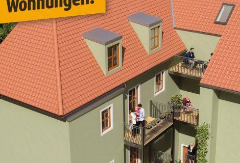 Lederergasse 6 –  Nur noch 3 Wohnungen zu verkaufen!!